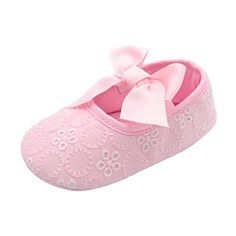 Bohai Infant Girls Cotton Ribbon Bowknot Soft Bottom Flower Prewalker ** You can find out more details at the link of the image. (This is an affiliate link) #BabyGirlShoes