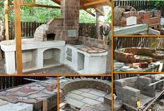 Is this the perfect addition to your outdoor space? Learn how to make this outdoor kitchen with pizza oven by viewing the full album of the project at http://theownerbuildernetwork.co/2kfm Are you a fan of outdoor kitchens?