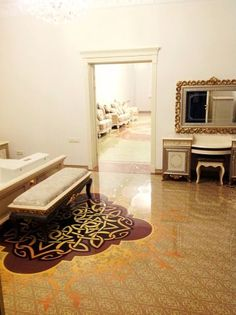 Imperial Interiors is a professional interior design company, offering exclusive services in Dubai and UAE. 3d Floor Art, 3d Floor Painting, Floor Murals, Tile Floor, Epoxy Resin Flooring, 3d Flooring, Bathroom Flooring, Office Bathroom, Bathroom Ideas