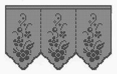 Crochet: Cortinas