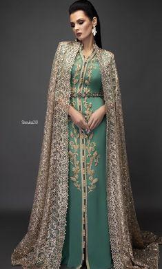 Moroccan Kaftan Dress, Caftan Dress, Hijab Dress, Morrocan Fashion, Arab Fashion, Muslim Fashion, Fashion Women, Arabic Dress, Mode Abaya
