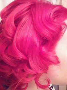 joico red done at FireflySalon.