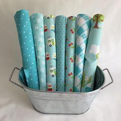 Blue Fabric Bundle Glamperlicious Samantha Walker Riley