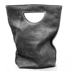smile bag - mini leather tote