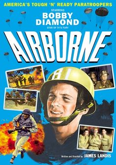Available in: DVD.Onetime juvenile star Bobby Diamond (remember him in Fury?) produced and starred in this patriotic quickie. Diamond plays a rural Old Movies, 82nd Airborne Division, Party Food And Drinks, Paratrooper, Cool Things To Buy, Stuff To Buy, Bobby, Diamond