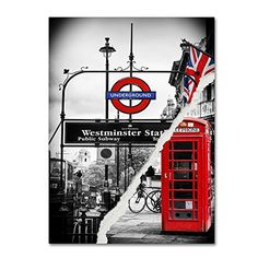 "Trademark Fine Art Westminster Station by Philippe Hugonnard Wall Decor, 18 by 24"" Trademark Fine Art http://www.amazon.com/dp/B0144N7YCU/ref=cm_sw_r_pi_dp_WiN-vb04H5ERZ"