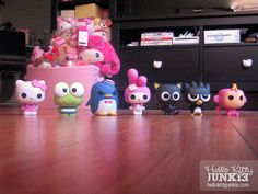 Funko POP! Sanrio collectible vinyl toys from Fugitive Toys -- Kitty + her friends!