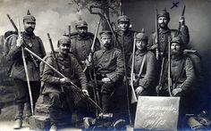 """""""Ansichtskarte aus den Vogesen"""" / Hartmannswillerkopf / Landwehr Infanterie Regiment Nr. 87, 1914 - 15."""