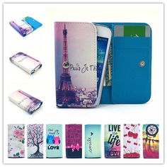 For Fly Power Plus 3 Case Cartoon Wallet Pu Leather Case Fashion Lovely Cool Cover Cellphone Bag Shield For Improving Blood Circulation Phone Bags & Cases