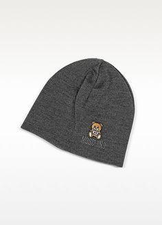 d41c0e31b50  moschino  solid wool teddy bear hat Bear