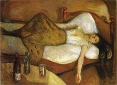 Edvard Munch, The Day After, 1894-95 on ArtStack #edvard-munch #art