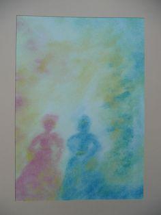Sneeuwwit en Rozenrood Wet On Wet Painting, Inspiration, Art, Watercolors, Colors, Water Colors, Shop Signs, Biblical Inspiration, Art Background