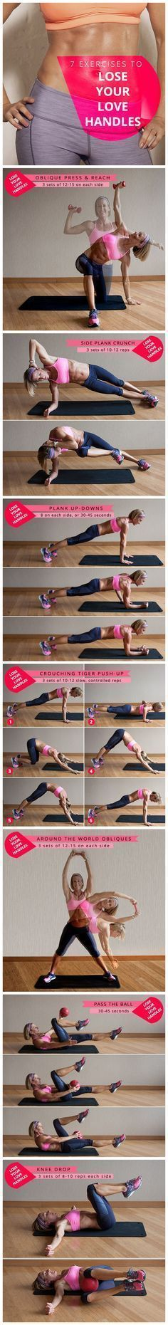 Love Handles Workout | Fitness