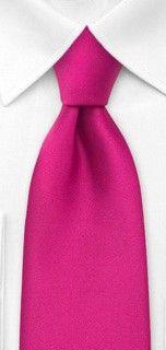 Bows N Ties Style Necktie Groomsmen Accessories in Island Pink Hot Pink Weddings, Pink Wedding Theme, Wedding Suits, Wedding Colors, Groomsmen Accessories, Pink Ties, Tie Styles, Groom And Groomsmen, Perfect Man