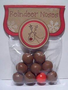 Reindeer noses, stocking filler