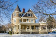 "plaitswithribbons: "" Victorian House (by Aquafilia) "" Victorian Style Homes, Victorian Cottage, Victorian Era, Abandoned Houses, Old Houses, Mount Morris, Victoria House, Victorian Architecture, Victorian Buildings"