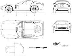 Alfa Romeo Canguro blueprint