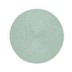 Tischset Uni, ca D:38cm, mintgrün