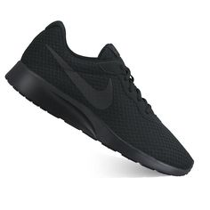 Nike Tanjun Men's Athletic Shoes, Size: 10.5, Black