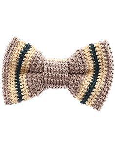 FLATSEVEN Mens Pre-Tied Knit Bow Tie Striped Pattern Bowtie (YB502) Beige FLATSEVEN http://www.amazon.com/dp/B00L59GKFO/ref=cm_sw_r_pi_dp_Ganlub0T4X5F0