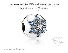 Pandora Winter 2016 Holiday Preview Crystalised Snowflake Clip