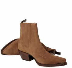 622 Lini Tobacco Suede Ankle Boots - R Soles Suede Ankle Boots, Ankle Booties, Leather Boots, Shoe Boots, Women's Shoes, Look 2017, Winter Shoes, Western Boots, Cowboy Boots