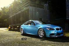Atlantis Blue BMW M3 – 20″ D2FORGED Concave Wheels  Atlantis Blue BMW M3 – 20″ D2FORGED Concave Wheels 19×9.5″ 19×11″ Brushed Aluminum / Chrome Lip / Gloss black inner