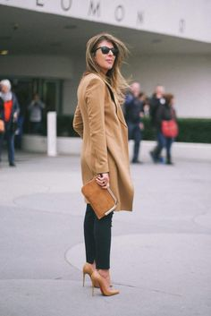 Nina Garcia in Christian Louboutin nude pump collection that features nude pumps for ALL skin tones.
