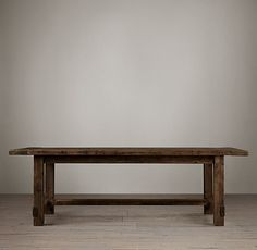 Farmhouse Salvaged Wood Rectangular Extension Tables  Comes in 3 different finishes- great special prices from $1425-$2545