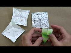TMORI How to solve crease patterns (CP) - Advanced origami lessons