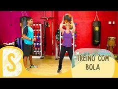 TREINO COM BOLA PARA EMAGRECER - YouTube
