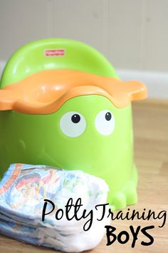 Potty Training Boys. It's going to be different than potty training girls. Great advice for parents.