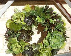 Succulent wreath – Etsy