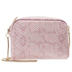 Geanta Vero Moda imitatie piele de sarpe roz si auriu la doar 59 lei Lei, Michael Kors Jet Set, Boutique, Bags, Animals, Fashion, Handbags, Moda, Animales