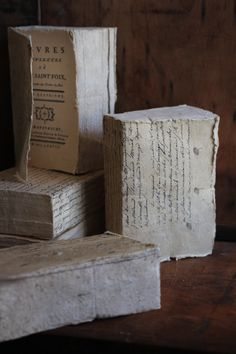 http://discoverattic.com   French handmade notebooks