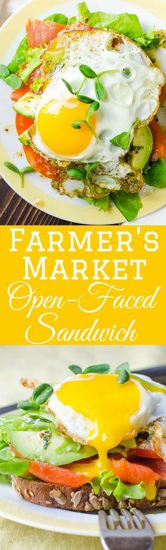 open-faced sandwich _ lisa lotts