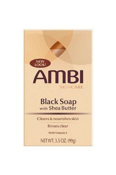 3.5 Oz 2 Pack Ambi Skincare Complexion Cleansing Bar