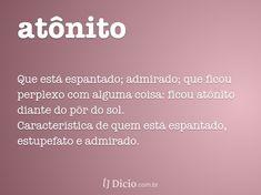 atônito