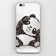 schattige panda patroon harde case voor de iPho... – USD $ 1.99