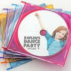 Dance Party Birthday Invite