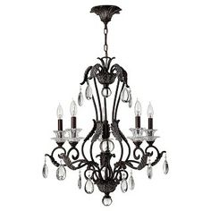 Marcellina 5 Light Chandelier by Hinkley Lighting