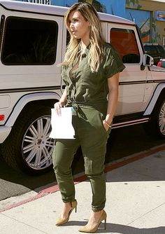 Kim K is killing it with her post-maternity style!