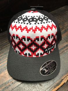 221f9ff1014 Ariat Western Mens Hat Cap Logo