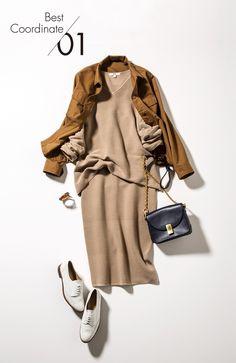Brownish Look from Uniqlo Work Fashion, Fashion Pants, Hijab Fashion, Daily Fashion, Fashion Outfits, Womens Fashion, Fashion Trends, Uniqlo, Fall Outfits