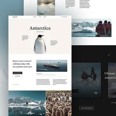 #Repost @colekrahn  Scenic  rejected landing page concept. See more on dribbble link in bio.