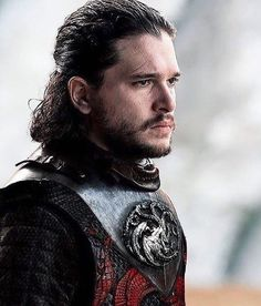Jon Snow. Aegon Targaryen. Damn. So hot!