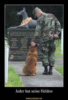 Jeder hat seine Helden