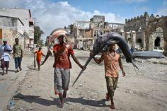 Al mercato di Mogadiscio, in Somalia. (Farah Abdi Warsameh, Ap/Lapresse)