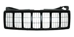 2005-2007 Jeep Grand Cherokee Grille Black 2005 Jeep Grand Cherokee, Jeep Accessories, Jeeps, Cars, Black, Products, Black People, Autos, Car