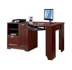 Realspace Magellan Collection Corner Desk, Classic Cherry